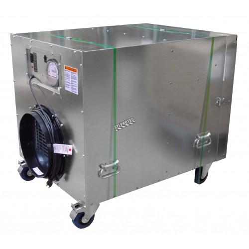 Purificateur d'air portable HEPA-AIRE à 2 vitesses. Débit de 1300 cfm ou 2000 cfm pour désamiantage et décontamination
