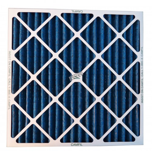 """Second stage filter for HEPA-AIRE/BULLDOG air scrubber. 24""""X24""""X2"""" filter for particles 3 µm to 10 µm"""