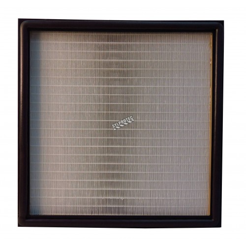 """Final stage HEPA filter for HEPA-AIRE & BULLDOG portable air scrubber. 24"""" X 24"""" X 6"""" filter for particles down to 0.3 µm"""