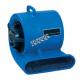 Ventilateur centrifuge RAPTOR à 2 vitesses (825 cfm & 1125 cfm) pour travaux d'après sinistre. Consommation de 2.4 A à 2.8 A.