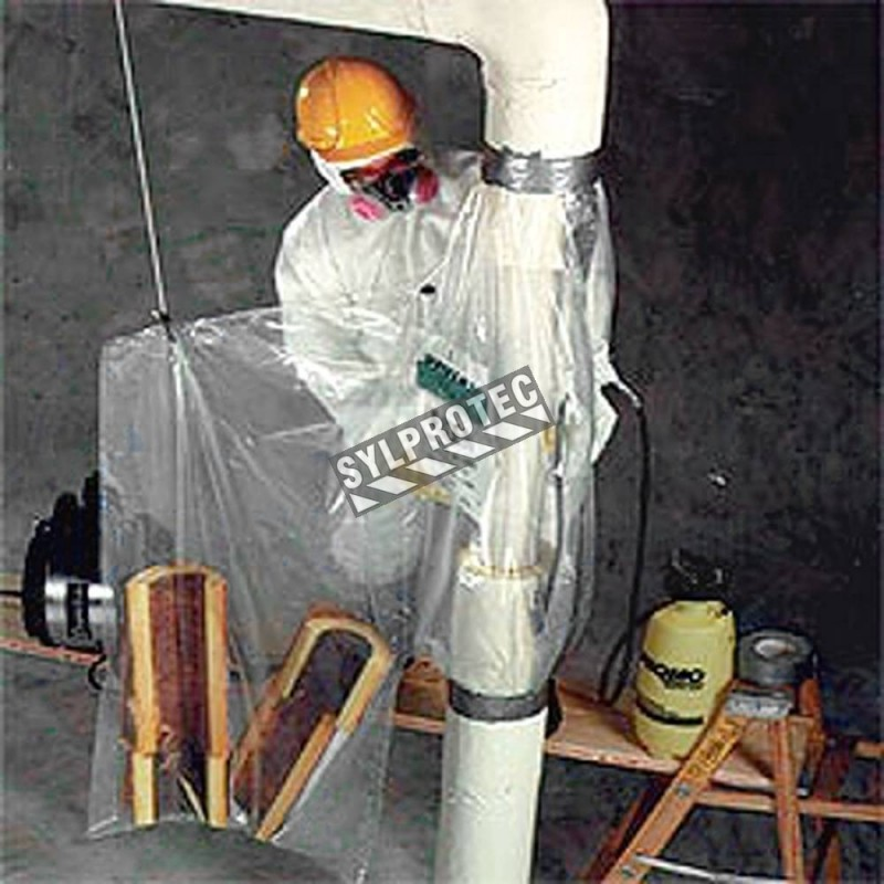 Disposable Glove Bags For Vertical Pipes Of 216 10 Inches