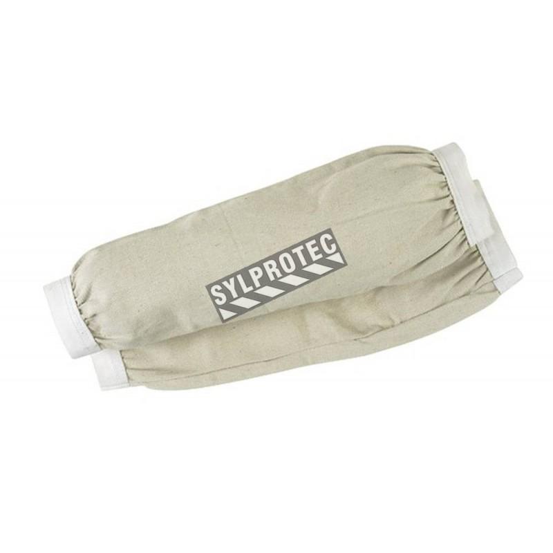 Manchettes en coton avec élastique 46 cm, 18 po. (paire)