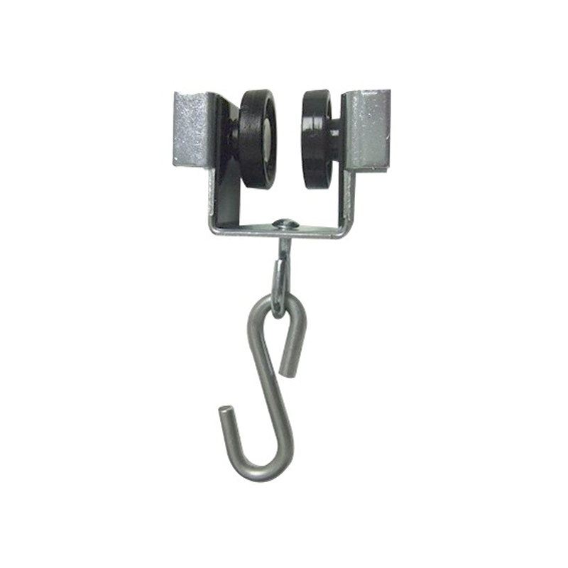 Roller For Track Of Curtain, Nylon Castors With S Hook