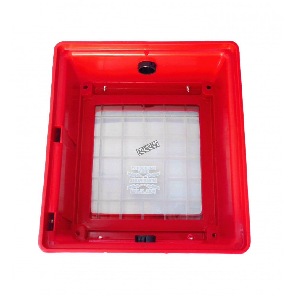 Hd Polyethylene Cover For Flush Mounted Manual Pull Stations