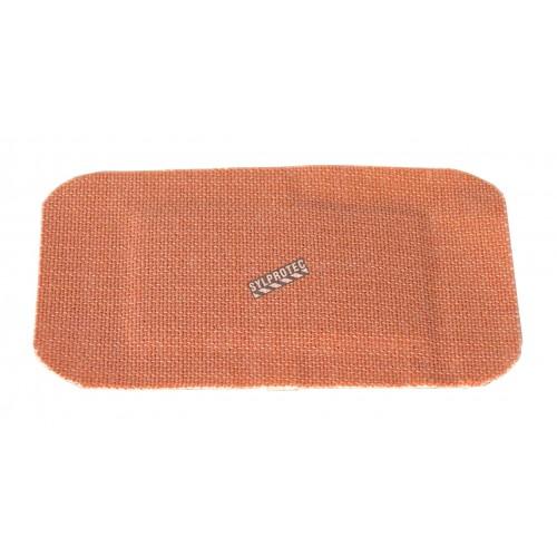 Pansements en tissu élastique, 5 x 7.5 cm (2 x 3 po), 50/bte.