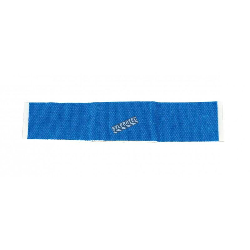 Pansements élastiques en plastique bleu détectables, 2.2 x 7.5 cm (3/8 x 3 po), 100/bte.