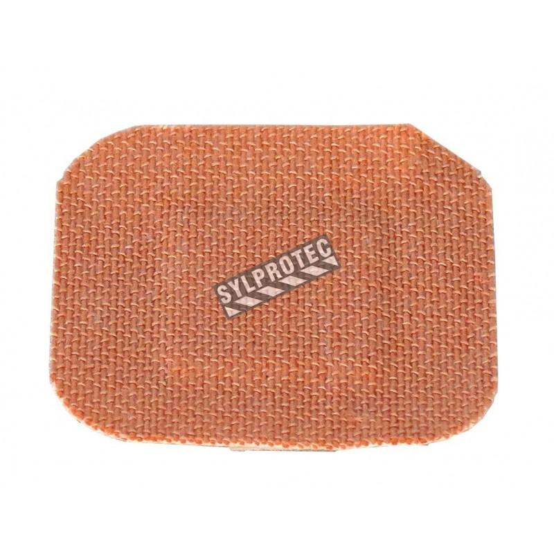 Elastic fabric square bandages, 3.75 cm (1.5 in), 50/box.