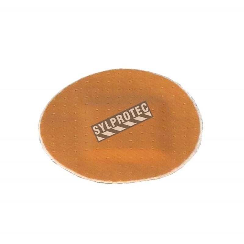 Round plastic latex-free bandages, beige, 2.2 cm (7/8 po), 50/box.