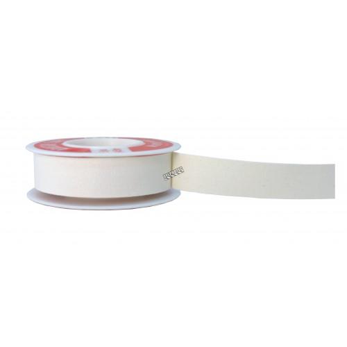 Waterproof white adhesive tape, 0.5 in x 15 ft.