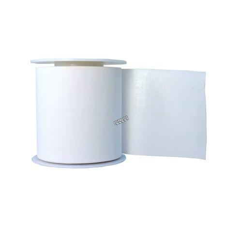 Waterproof white adhesive tape, 2 in x 15 ft.