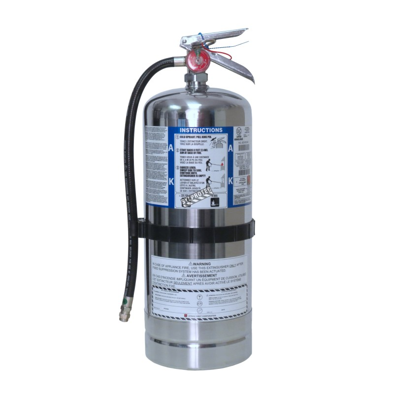 Fire Extinguisher 1 6 Gallons Type Ak Ulc 2ak With Wall Hook