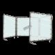 Écran de soudure portable en vinyle, 5 x 4 pi, multiple panneau, couleur au choix.