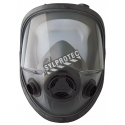 North 5400 series NIOSH approved respirator for North N series filters, cartridges, cartridge/filters.