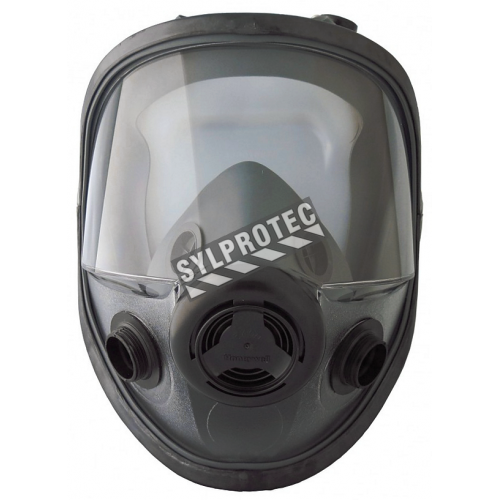 North 5400 series NIOSH & CSA Z94.4 approved respirator for North N series filters, cartridges, cartridge/filters.