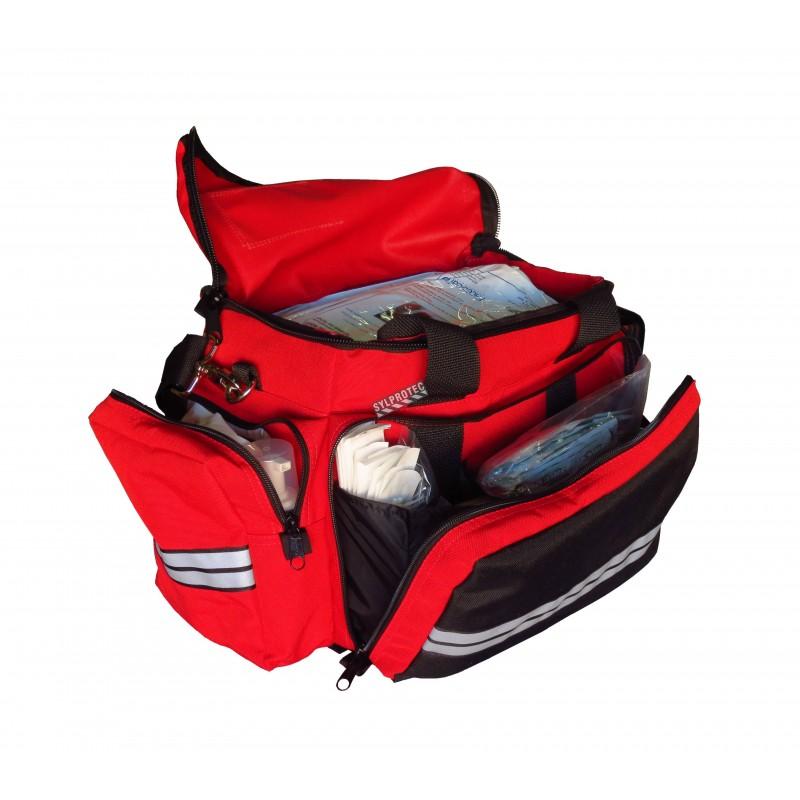 Trousse de premiers soins pour secouristes, sac Cordura.