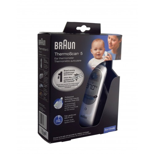 Digital ear thermometer, for infants and toddlers.