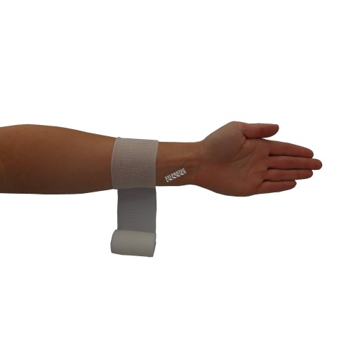 Sterile roll of stretch gauze bandage (KLEEN), 2 in x 12 ft, sold individually.