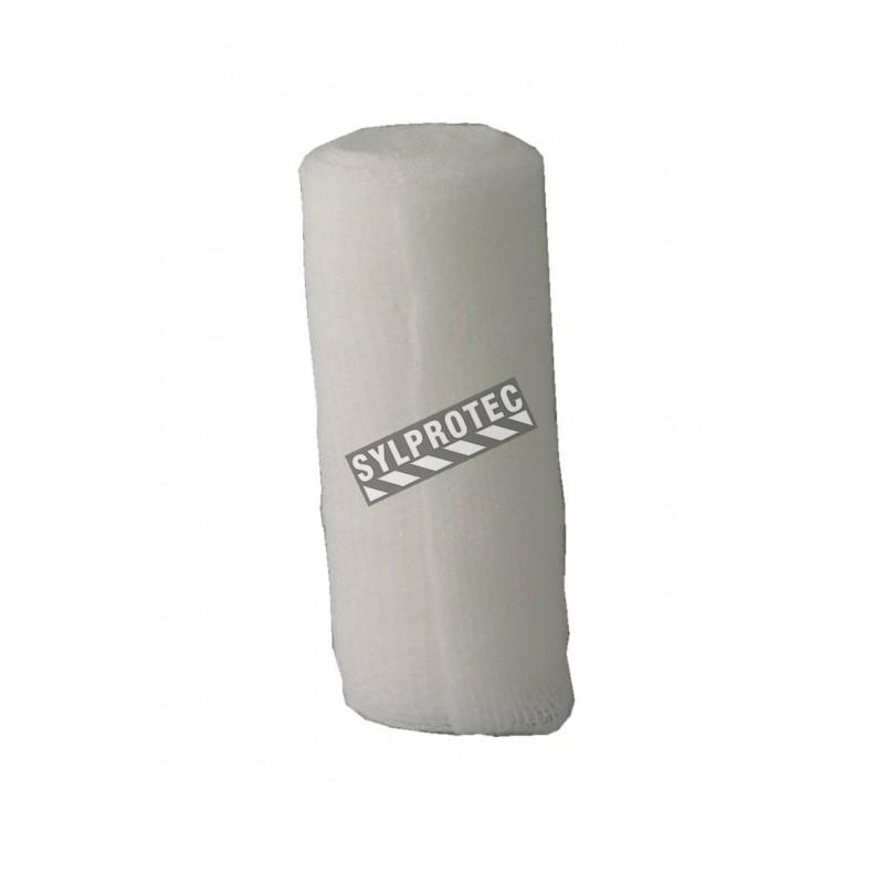 Rouleau de gaze stérile extensible (KLEEN), 3 po x 12 pi, vendu à l'unité.