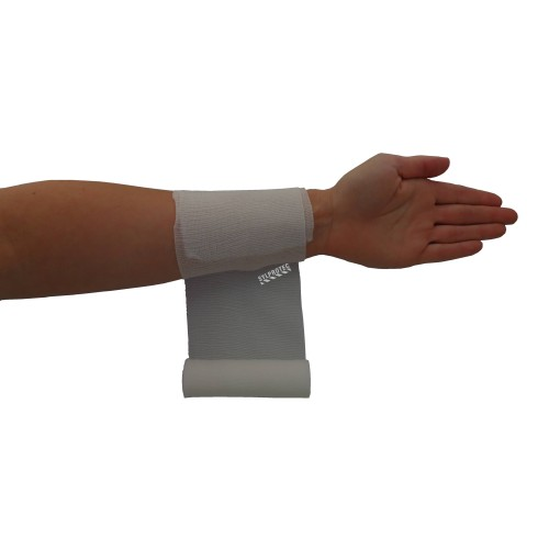 Sterile roll of stretch gauze bandage (KLEEN), 4 in x 12 ft, sold individually.