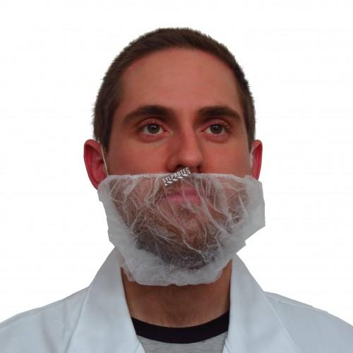 Bonnet à barbe blanc (100)