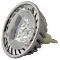 Ampoule DEL blanche de 3W 235 lumens, pour lampes d'éclairage d'urgence.