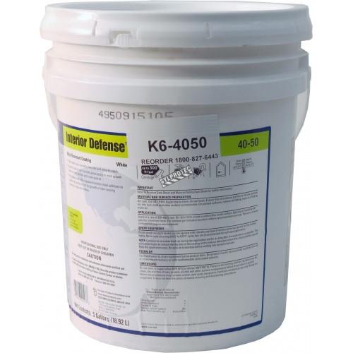 Produit encapsulant à base de baryum, de zinc et d'IPBC pour le contrôle et la prévention des moisissures. 5 gal US/seau.