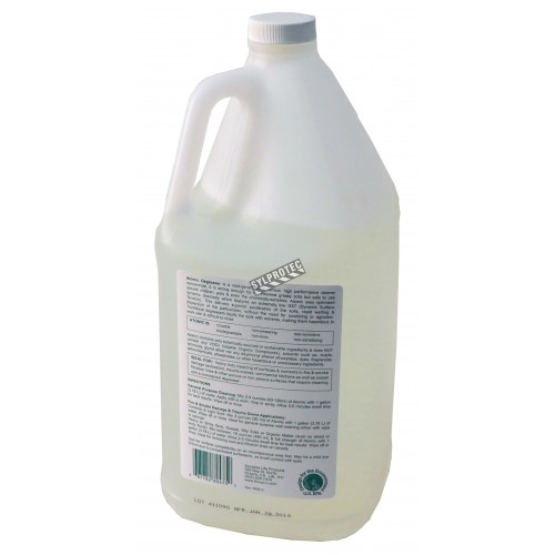 Benefect® Atomic Degreaser™ based on plants extracts for heavy-duty cleaning of fire and smoke damage. 1 gal US bottles.