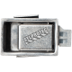 Universal latch for recessed fire cabinet