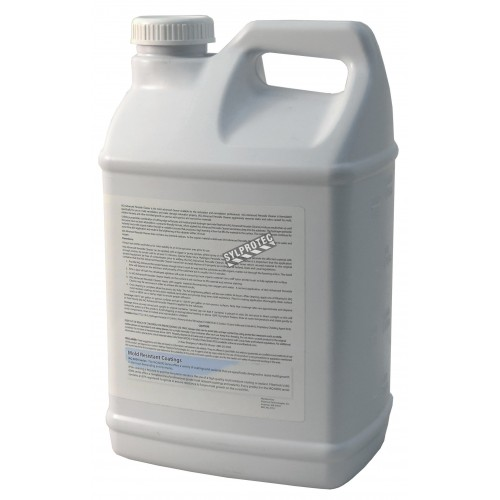 Fiberlock Technologies™ Advanced Peroxide Cleaner® mold stain remover with hydrogen peroxide. 2.5 gal US container.