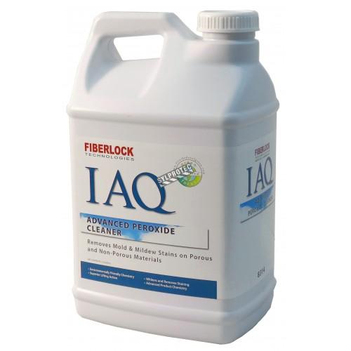 Nettoyant & détachant Advanced Peroxide Cleaner de Fiberlock Technologies contre les taches de moisissures. Seau de 2,5 gal US.