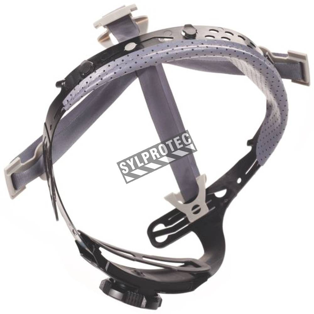 ... points adjustable ratchet hard hat suspension. Sold individually