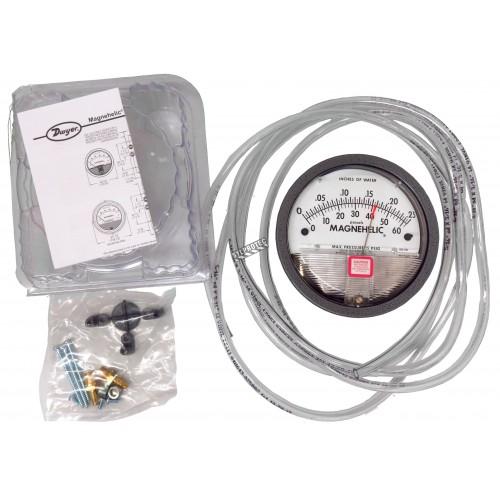 Manomètre Sensocon S2000 pour pression positive, négative & différentielle avec précision de ±2%