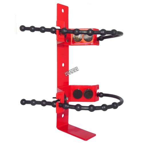 Amerex 862 heavy-duty vehicle rubber strap bracket for 2½ lb portable fire extinguishers, Ø 5-7 inches