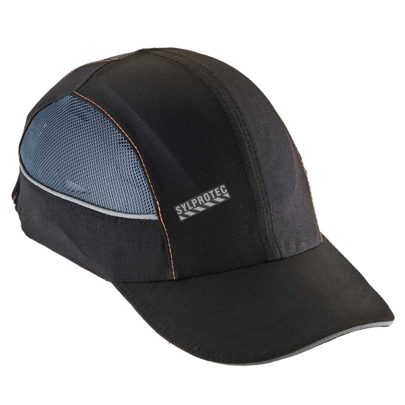 bbf022bf173 Ergodyne baseball-style bump cap with 4 LEDs. Lightweight protection  against bumps.