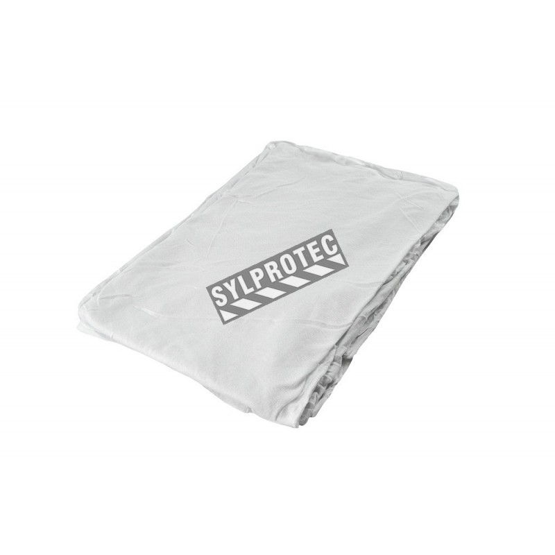 100 industrial shop rags cleaning towels white jumbo 16/'/'x24/'/' large shop rag
