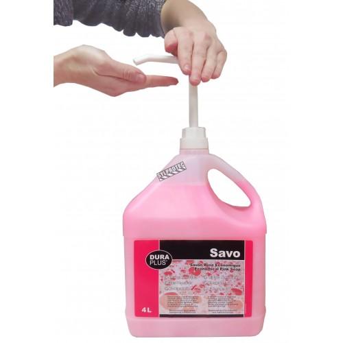Pompe distributrice pour savon 4 litres.