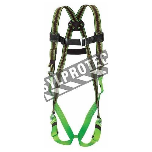 Harnais de sécurité Duraflex Ultra de Miller, taille L-XL, 1 anneau dorsal, boucles entrelacées. Harnais du groupe A.