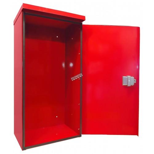 Cabinet de surface en acier pour extincteurs 20 lbs, pour l'extérieur.