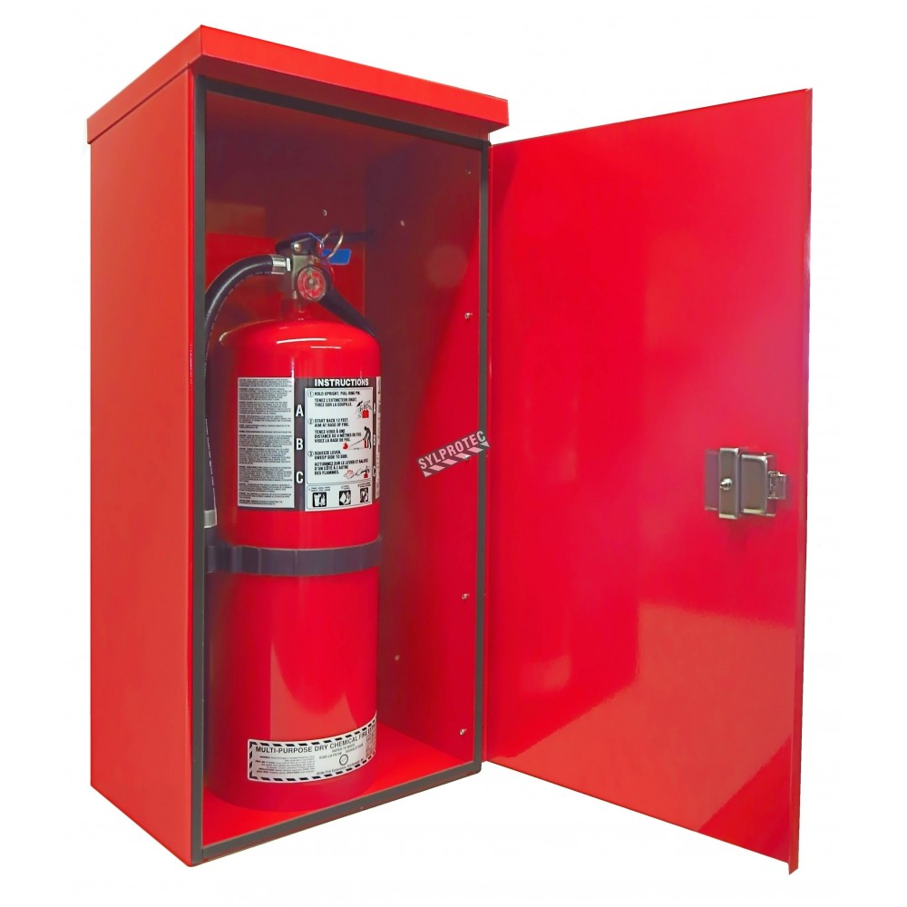fire extinguisher cabinet surface mount outdoors steel cabinet for 20 lbs 15431
