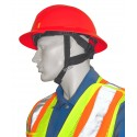 Accessory North Safety 4-point adjustable elastic nylon chin strap for North A119R hard hats. Sold individually