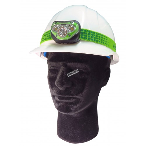 Energizer Vision HD+ hands-free headlight with four light modes and dimmable (max 225 lumens).