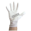 Superior Touch white Dyneema cut-resistant gloves with PU coating, ASTM ANSI puncture resistant level 3  cut resistant level A2