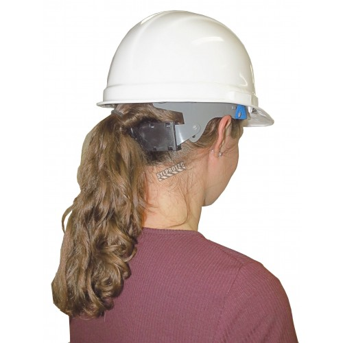 MSA® V-Gard™ hard hat CSA & ANSI/ISEA type 1, class E approved with a four-point suspension. Sold individually