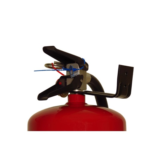 Wall hanger brackets for Diamond & Strike First brand 20 lb portable fire extinguishers
