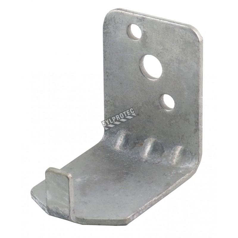 Wall hanger brackets for 10 lb dry chemical or 10-15 lb CO2 portable fire extinguishers