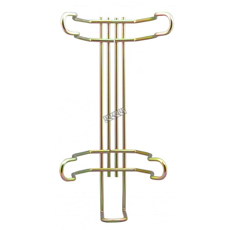 Crochet universel de véhicule pour extincteur portatif de 5 lb d'un diamètre de 4 ½ pouces