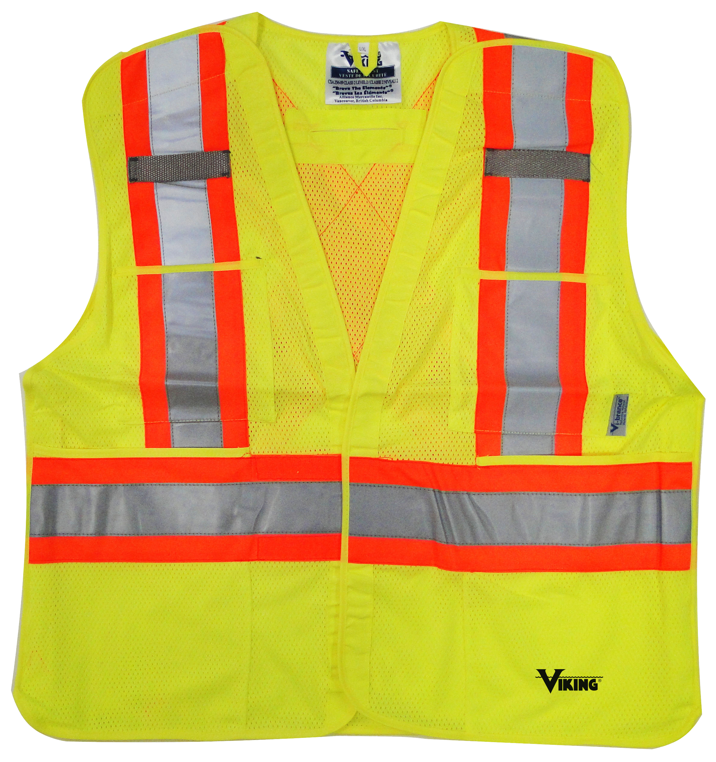 Safety Clothing Efficient Reflective Vest Breathable Mesh Multi Pockets Construction Traffic Safety Protective Jacket Fluorescent Clothes Work Clothing Workplace Safety Supplies