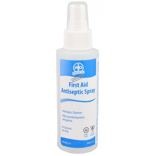 Solution antiseptique en vaporisateur, 100 ml.