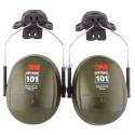 3M PELTOR Optime 101 earmuffs for hard hat, NRR 24 dB