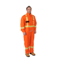 Orange  coverall 7 oz. FR 9.2 cal/cm2, made by Viking
